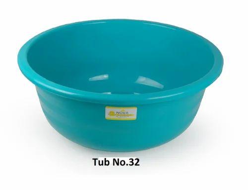 Plastic Bath Tub, Plastic Tubs - Lexicon Containers, Rajkot | ID ...