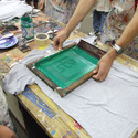 Cotton Screen Printing