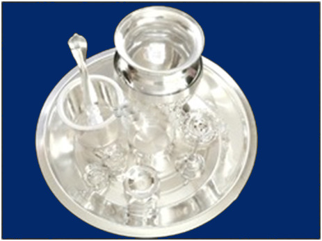 Silver Plated Gift Items - View Specifications & Details of