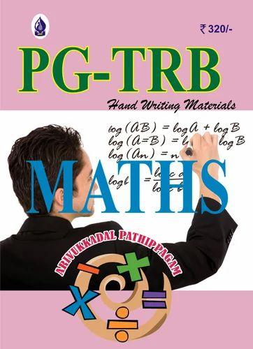 Pg Trb Maths Study Material Pdf