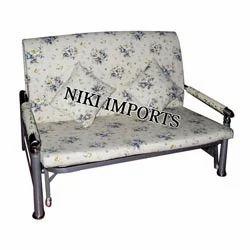 Cushion 2 Seater Sofa Set - Fabric