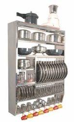 Stainless Steel Kitchen Racks In Rajkot स्टेनलेस स्टील