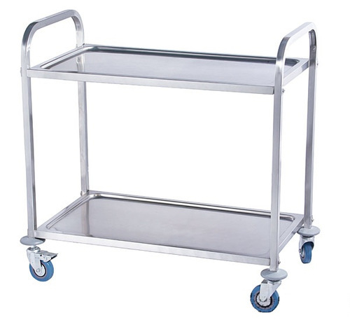 Stainless Steel Platform Trolley - Hand Trolley Manufacturer from Mumbai