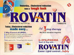 Rovatin 10mg  Tablet