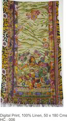 Linen shawls