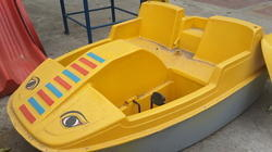 2 Seater Car Model Paddle Boat