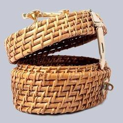 Oval Wicker Box