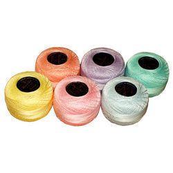 Semi-dull Cotton, Acrylic Shimmer Yarn