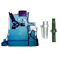 Automatic Hydraulic Pipe Threading Machine