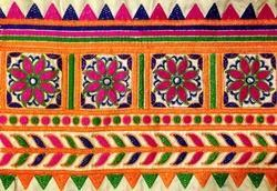 Embroidered Saree Borders