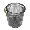Round Metal Pen Stand