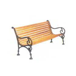 Garden Bench FRP Patti Wooden Design