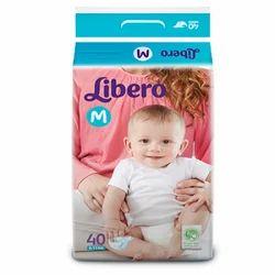 Libero Diapers Medium(6-11 Kg) Pack of 40
