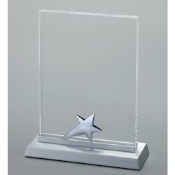 Transparent Crystal Trophy