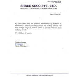 Shree Seco Pvt. Ltd.
