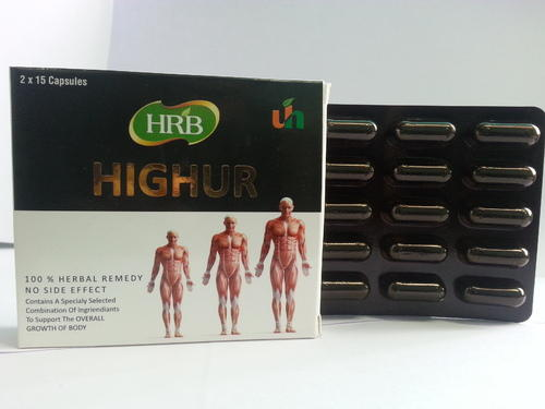 Highur Herbal Capsules for Height and Body Growth, 2x15