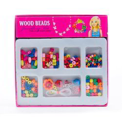 Wood Beads Jewellery Kit Jr.
