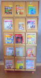Magazine Stand For Library