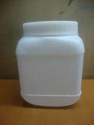 1 Kg Plastic Square Jar