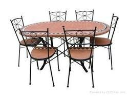 Beautiful Wrought Iron Dining Table