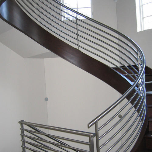 Glass And Metal Stair Railings 1500 Trend Home Design