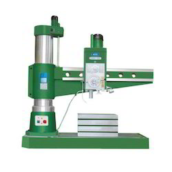 All Geared Radial Hydraulic Drill