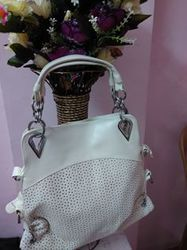 Elegant Milky White Handbag