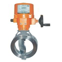 Motorized High Butterfly Valve