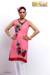 Designer Printed Ethnic Tunic Kurti