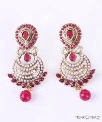 Pink Color Earrings