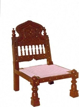 Wooden Chair Low Height
