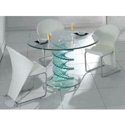 Glass Dining Table in Chennai Tamil Nadu Glass Table Chairs