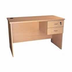 big sale 450f9 34571 Office Table with Double Drawer