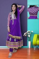 Heavy Worked Anarkali Suit