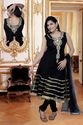 Anarkali Black Suit