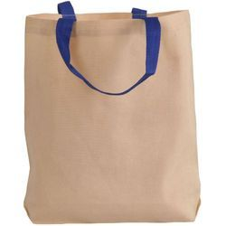 Norquest brands White 100% Cotton Canvas Carry Bag, for Grocery