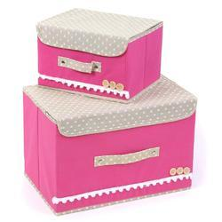 Foldable Storage Boxes with lid- set of 2  sc 1 st  IndiaMART & Folding Storage Boxes - Manufacturers u0026 Suppliers in India