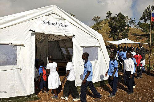 School Tent (As per UNICEF Specifications) : school tent - memphite.com
