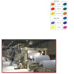 Paper Dyes for Paper Industry