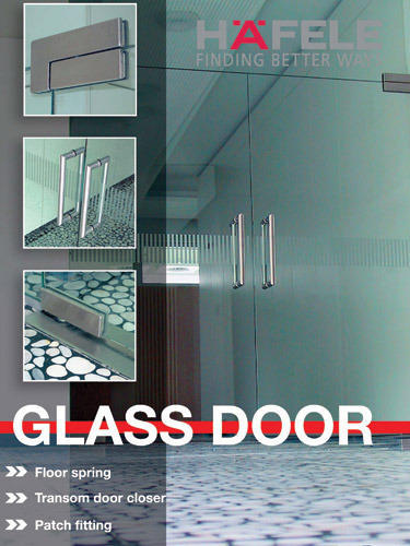 HAFELE GLASS DOOR - Toughened Safety Glass Wholesale