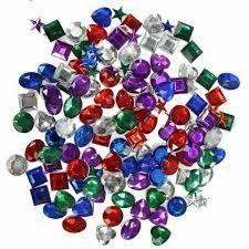 Adhesive Crystals