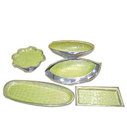 Aluminum Decorative Trays & Bowls