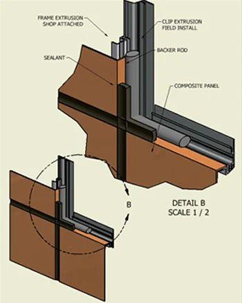 Aluminium Composite Panel Cladding Services In Motilal