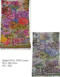 Linen Printed Scarves