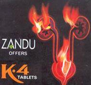 Zandu K4 Tablets, Grade Standard: Medicine Grade
