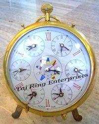 World Timer Standing Clock