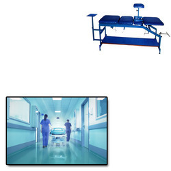 Traction Bed Four Fold for Hospital