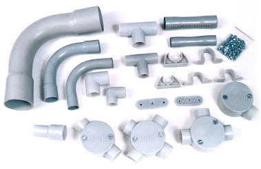pvc conduit wiring system example electrical wiring diagram u2022 rh huntervalleyhotels co Flexible Wire Conduit Installing Plastic Electrical Conduit