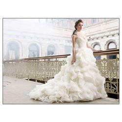 S And L Flare Wedding Gown