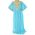 Fashion Muslim Chiffon Long Dress Islamic Abayas
